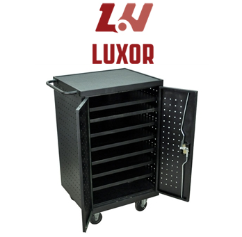 Top Luxor Tablet and Laptop Charging Cart Solutions for Schools