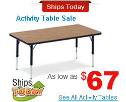 Activity Tables Sale