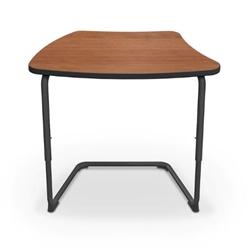 Mooreco 84390 Hierarchy Cantilever Desk Platinum Frame